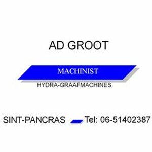 Ad Groot Kraanmachinist logo