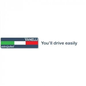 Autorijschool Vanelli logo