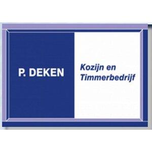 P. Deken Kozijn en Timmerbedrijf logo