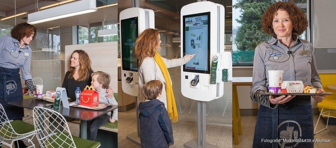 McDonald's restaurant Alkmaar Oost start met persoonlijke bediening aan tafel
