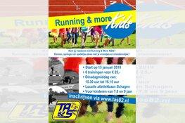 Nieuw in Schagen: Running and More KIDS bij TAS'82