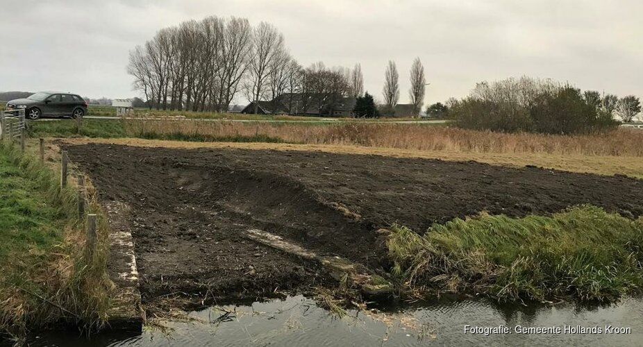 Fundering voormalige Schagerkogge Strijkmolens opgegraven in Kolhorn