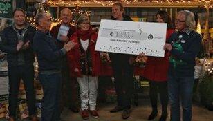 Hospice Schagen ontvangt 2140 euro van gemeente