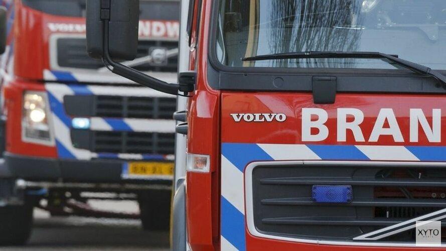 Brand op de Dorpsstraat in Winkel(video)