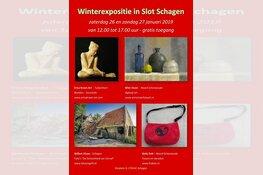 Veelzijdige expositie in Slot Schagen op 26 & 27 januari