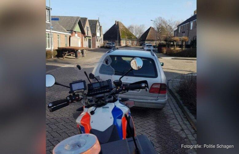 'Spookauto' met Pools kenteken in beslag genomen in Tuitjenhorn