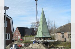 Karakteristieke en beeldbepalende torentje terug geplaatst in 't Veld