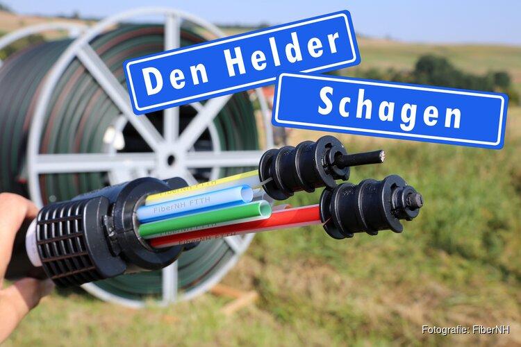 FiberNH Glasvezelinternet:  straks ook in Schagen en Den Helder