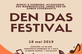 65e editie van het Den Das Festival op 18 mei 2019 in 't Veld
