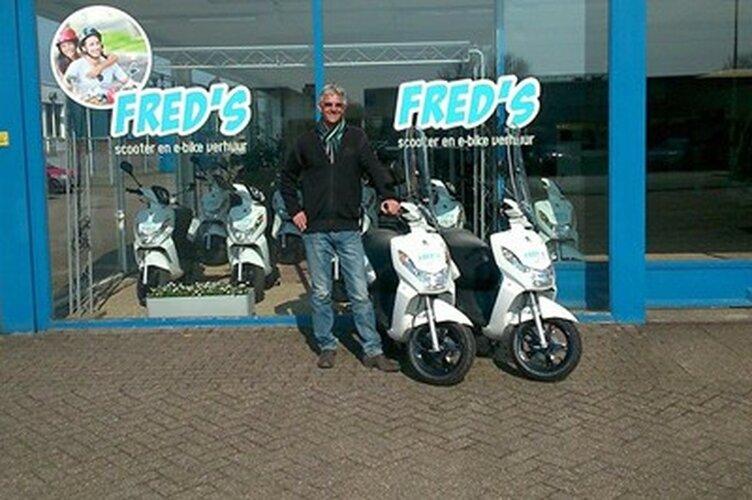 Fred's Verhuur: Voor uw E-chopper, scooter, fiets en veel meer