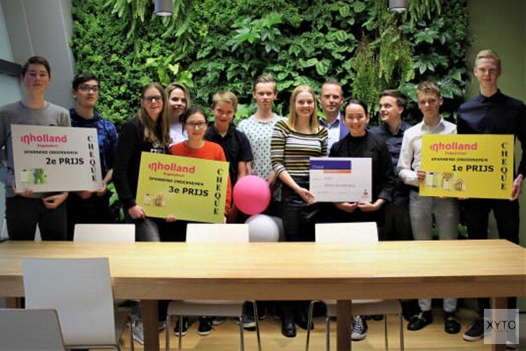 Scholieren Regius College en Willem Blaeu winnen titel 'beste ondernemingsplan'