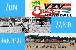VZV speelsters geselecteerd voor deelname EK Beach Handball in Polen