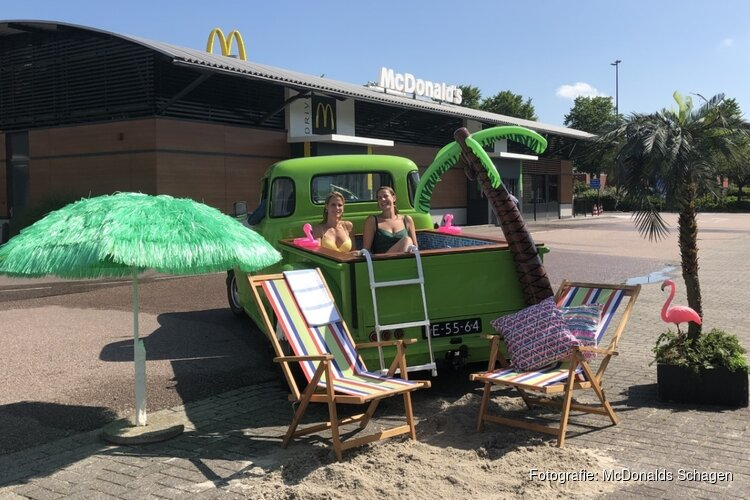 Summer Surprise: carpoolen à la McDonald's