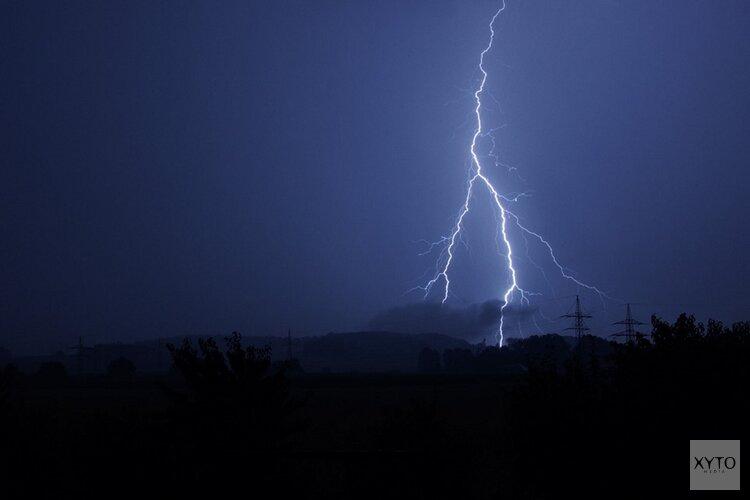 Weer code geel in de provincie: onweer, windstoten en hagel verwacht