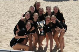 Nederlands Beachhandbal team U17 presteert verrassend goed