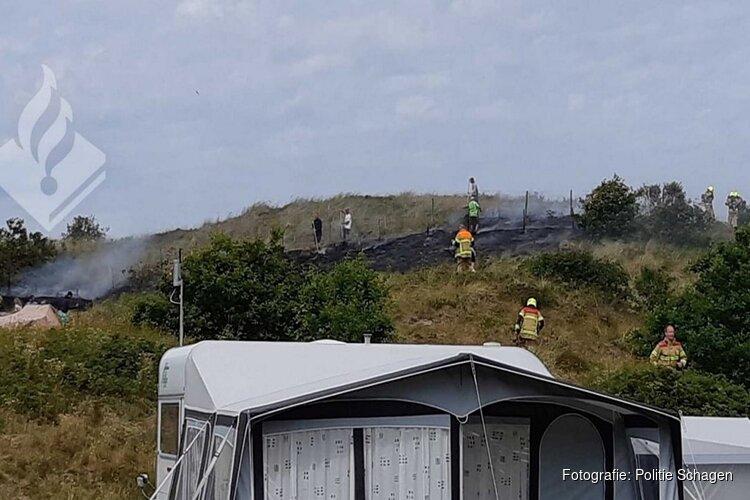 Duinbrand Sint Maartenszee snel onder controle