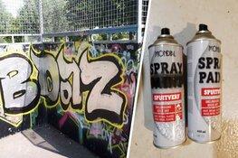 Graffitispuiter op heterdaad betrapt tijdens 'taggen' op Schager gymzaal