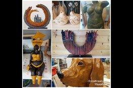 Open dagen in atelier Erica Kraan-Art op 21 & 22 september