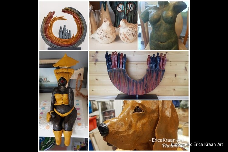 Open dagen in atelier Erica Kraan-Art op 21 & 22 september