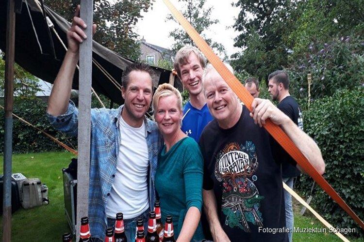 '4 The Taste' in de Muziektuin in Schagen