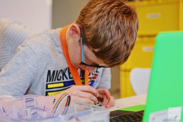 Leren programmeren tijdens CoderDojo 26 oktober