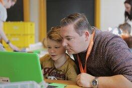 Leren programmeren tijdens CoderDojo 2 november