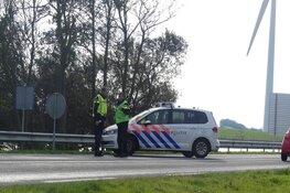 Auto te water in Callantsoog