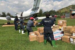 MAF-piloten leveren voedseldroppingen in Mozambique na mega-overstroming