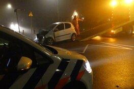 Veel schade bij ongeluk in Schagen