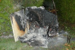 Brand in meterkast op bungalowpark De Horn
