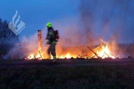 Bootjes in Waarland verwoest door brand