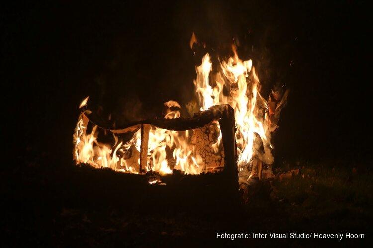 Brandje aan het Steenloperspad