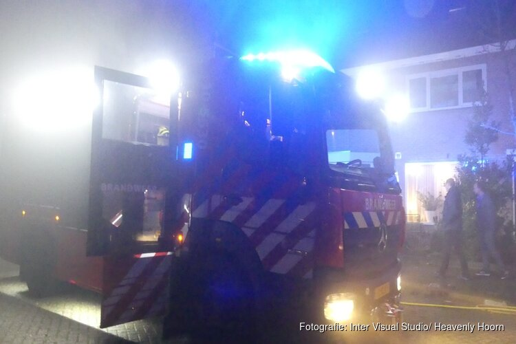 Brandje in achtertuin A. Schelfthoutstraat