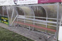 Veel schade door vuurwerk en vandalisme bij Schagen United