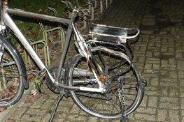 Elektrische fiets in brand