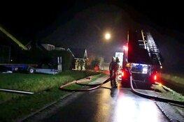 Grote brand in Sint Maartensvlotbrug: vlammenzee in aantal schuren