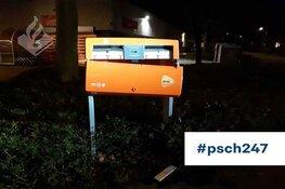 Post waait door Schaagse buurt na opblazen brievenbus