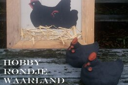 Nieuwe creatieve markt: Hobby Rondje Waarland