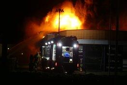 Zeer grote brand bij Witte Paal in Schagen