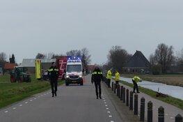 Weg in Schagerbrug afgezet na ernstig ongeval