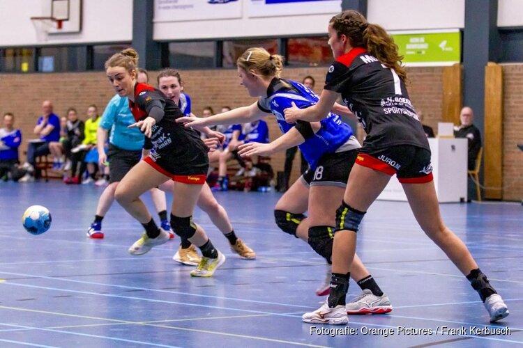 JuRo Unirek/VZV ook in de slotfase onderuit tegen Handbal Venlo