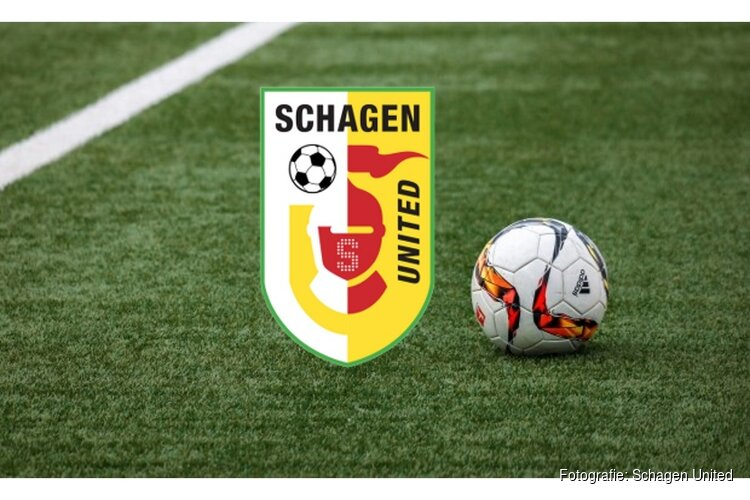 Schagen United na rust langs VZV