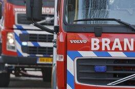 Brand in vervallen boerderij in Waarland