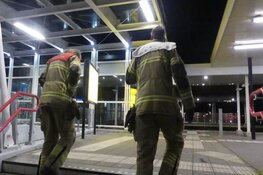 Onverlaten vast in lift op NS-station