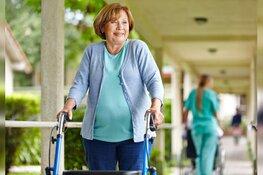 Wekelijks wandelen met rollator is goed voor lijf en leden