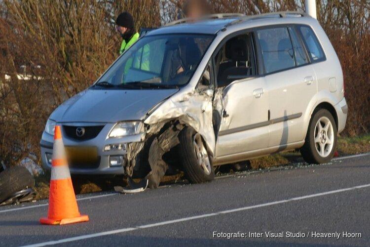Ongeval op N9 bij Burgerbrug