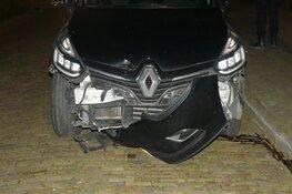 Veel schade bij eenzijdig ongeval Nijverheidsstraat