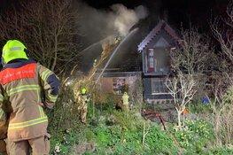 Brand in boerderij Burgerbrug