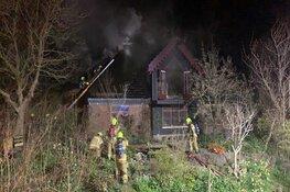 Verwoestende brand in woonboerderij Burgerbrug ontstaan door open haard