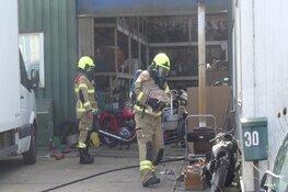 Brandje bij groothandel in gereedschap